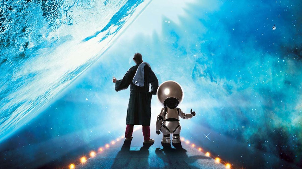 Don't leave Earth without Garth Jennings' The Hitchhiker's Guide to the Galaxy