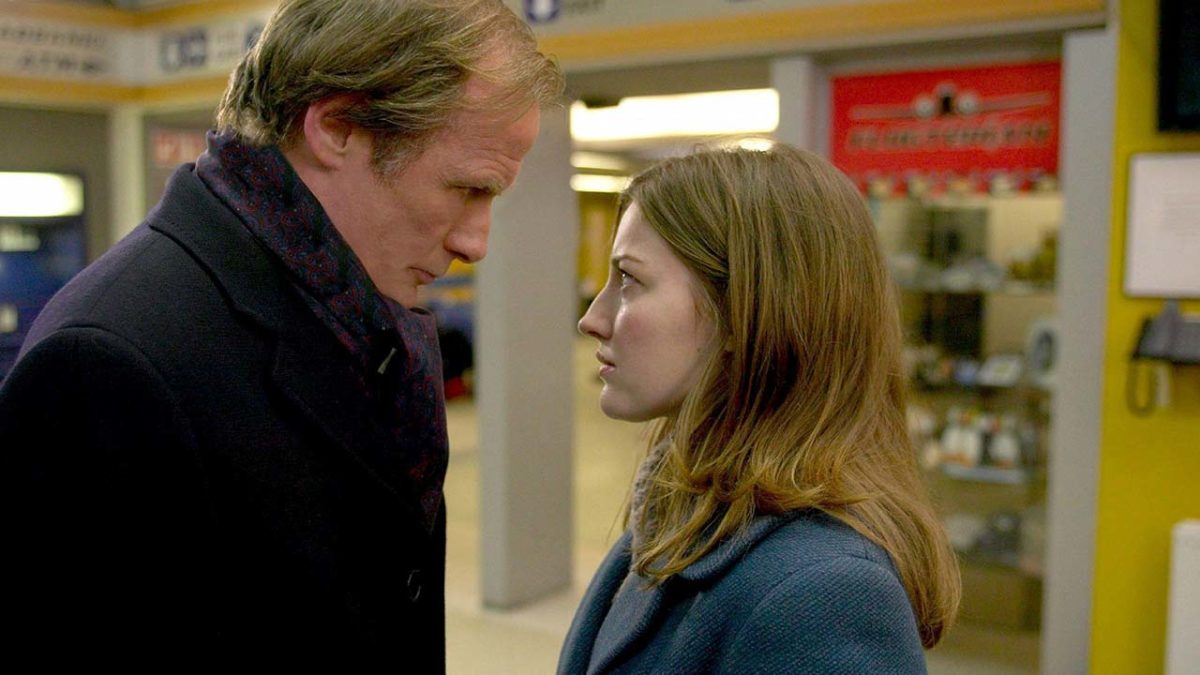 Bill Nighy and Kelly Macdonald in The Girl in the Cafe