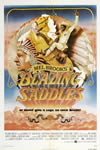 Blazing Saddles movie poster