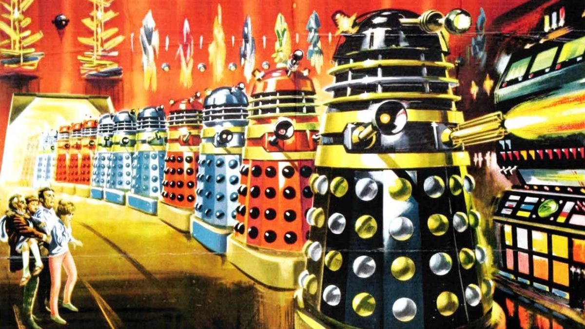 Peter Cushing takes Doctor Who to the big screen in Dr. Who & The Daleks (1965)