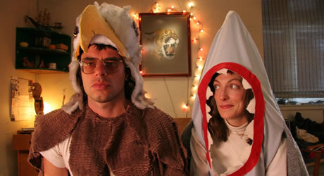 Jermaine Clement and Loren Horsley in Eagle vs. Shark