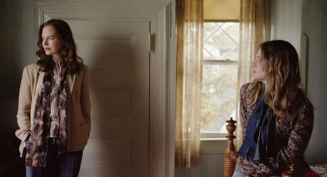 Nicole Kidman and Jennifer Jason Leigh in Margot at the Wedding
