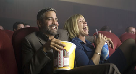 George Clooney and Francis McDormand in Burn After Reading