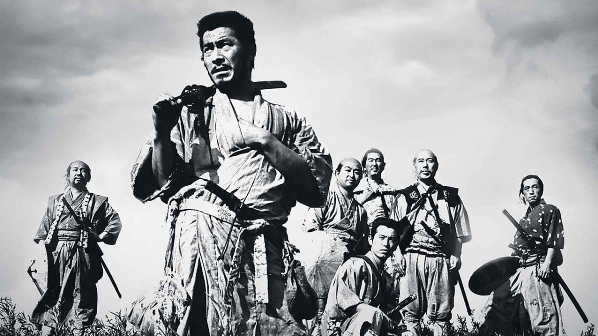 Seven Samurai protect others to save themselves in Akira Kurosawa's Shichinin no samurai