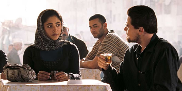 Leonardo DiCaprio and Golshifteh Farahani in Body of Lies