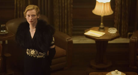 Tilda Swinton in The Curious Case of Benjamin Button