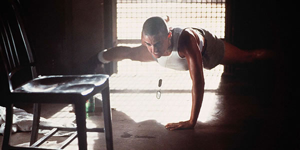 Demi Moore in Ridley Scott's G.I. Jane