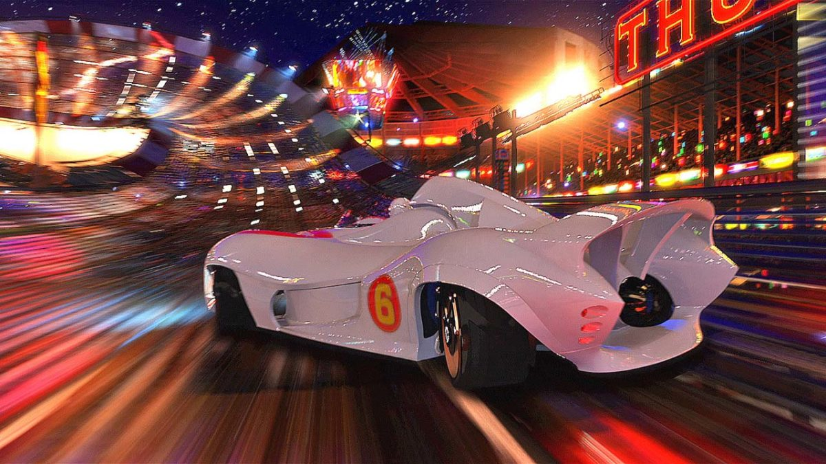 It's All Too Much in the Wachowski's Live-Action Cartoon Speed Racer