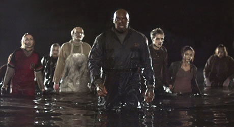 Eugene Clark in George A. Romero's Land of the Dead