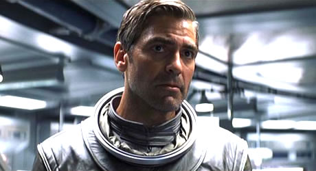 George Clooney in Solaris