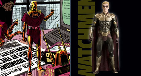 Adrian Veidt Ozymandias action figure from the movie Watchmen
