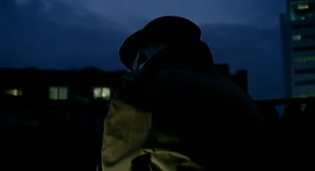 Rorschach in The Mindscape of Alan Moore