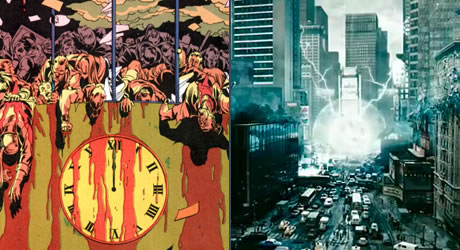 New York City gets blown up in Watchmen