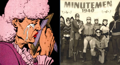Sally & The Minutemen from Watchmen