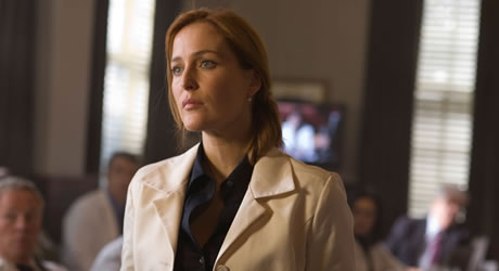 Gillian Anderson in The X-Files: I Want to Believe