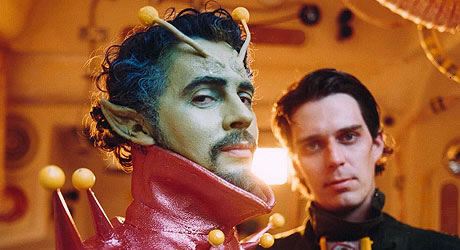 Wayne Coyne and Steven Drozd in Christmas on Mars
