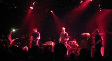 Mogwai live at The Music Hall of Williamsburg, April 2009