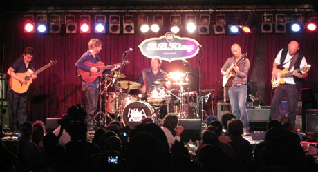 California Guitar Trio & Tony Levin's Stick Men, live at the B.B. King Blues Club, New York, June 22, 2009