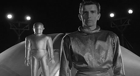 Michael Rennie as Klaatu in The Day the Earth Stood Still