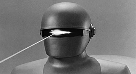 Lock Martin as Gort in the Day the Earth Stood Still