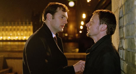 David Morrissey & John Simm in State of Play
