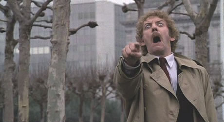 Donald Sutherland in Invasion of the Body Snatchers