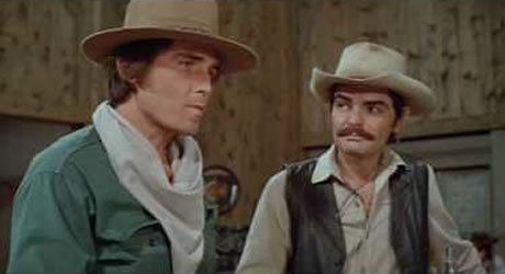 Richard Benjamin and James Brolin in Westworld