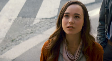 Ellen Page in Inception