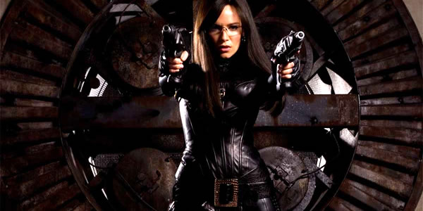 Sienna Miller as The Baroness in G.I. Joe: The Rise of Cobra