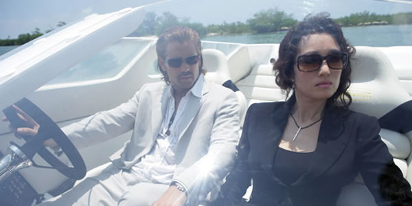 Colin Farrell and Gong Li in Michael Mann's Miami Vice