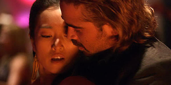 Gong Li and Colin Farrell in Michael Mann's Miami Vice