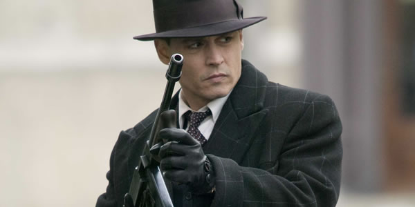 Johnny Depp in Michael Mann's Public Enemies