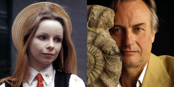 Lalla Ward and Richard Dawkins