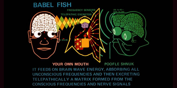 Babel Fish from The Hitchhiker's Guide to the Galaxy