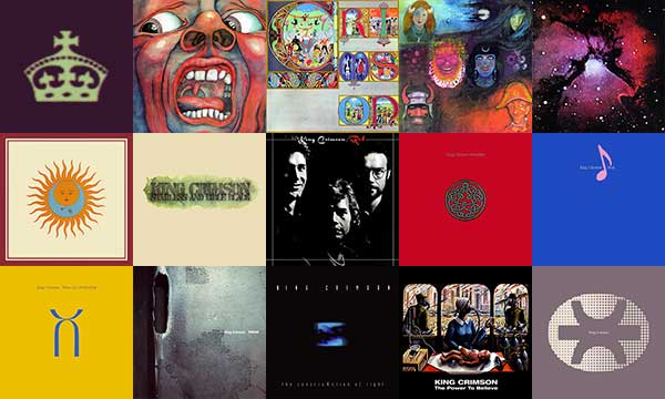King Crimson Album Art