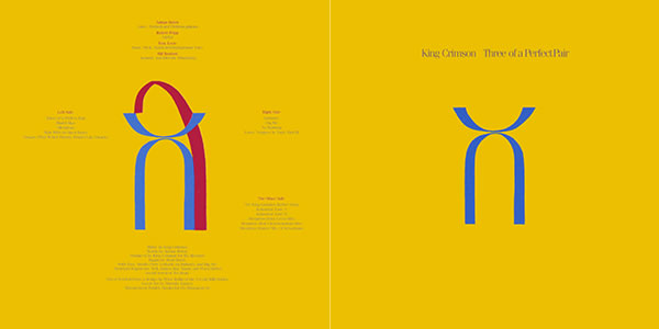 King Crimson Three of a Perfect Pair
