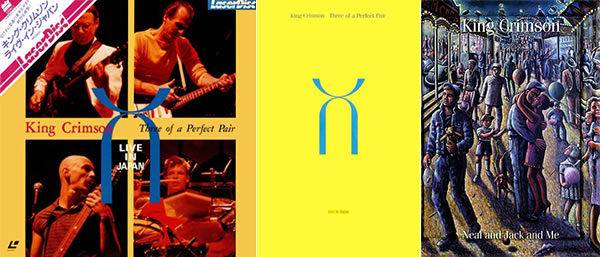 King Crimson Three of a Perfect Pair Live in Japan