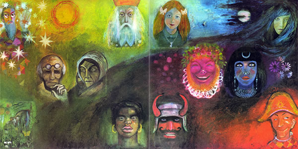 King Crimson In the Wake of Poseidon front cover painting 12 Archetypes by Tammo de Jongh