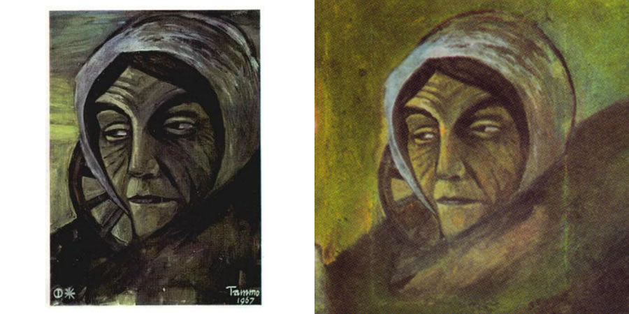 Tammo de Jongh's Old Woman from The 12 Faces of Humankind