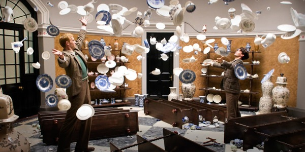 James Darcy and Ben Whishaw in Cloud Atlas