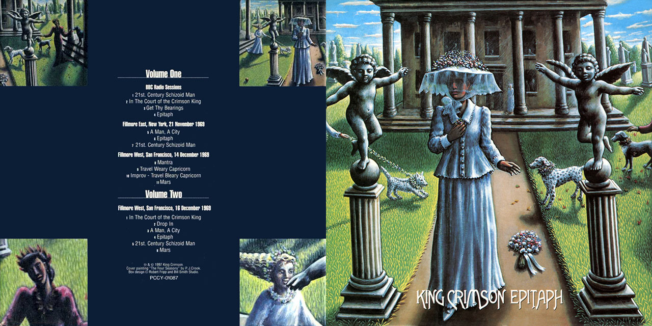 King Crimson Epitaph box set