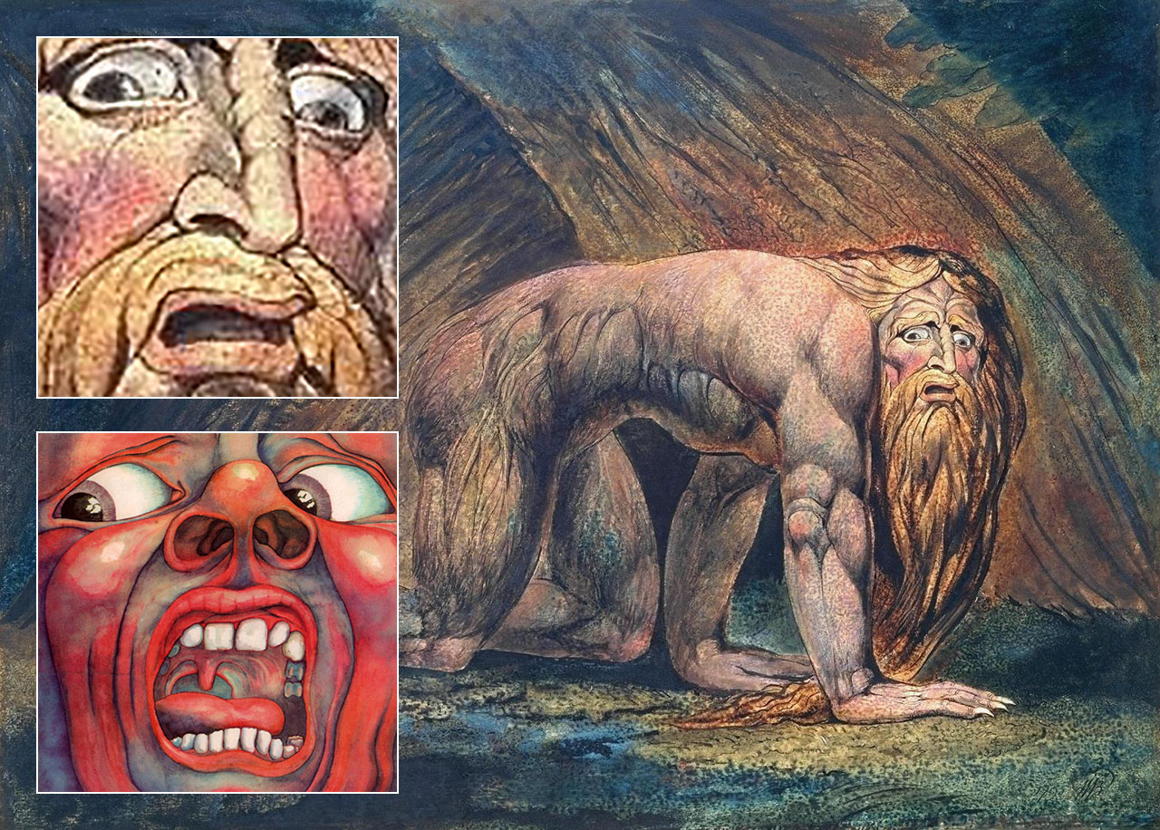 King Crimson In the Court of the Crimson King William Blake Nebuchadnezzar