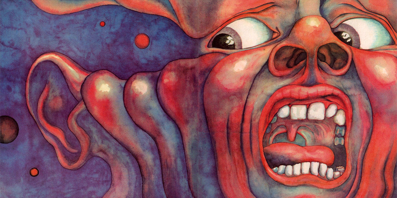 King Crimson In the Court of the Crimson King outer gatefold