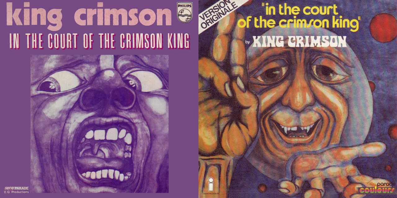 King Crimson In The Court Of The Crimson King single