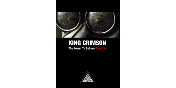 King Crimson The Power to Believe Tour Box