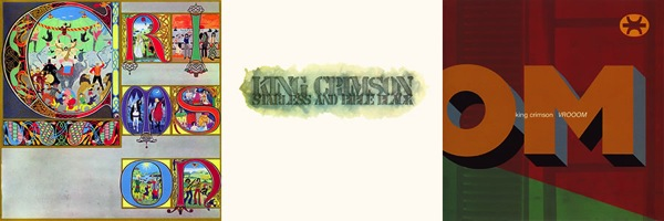 King Crimson: Lizard, Starless and Bible Black, VROOOM