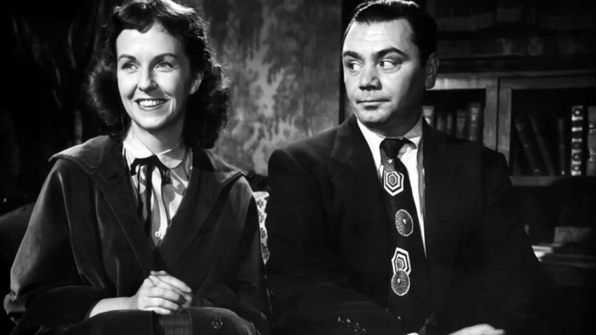 Ernest Borgnine and Betsy Blair in Marty, 1955