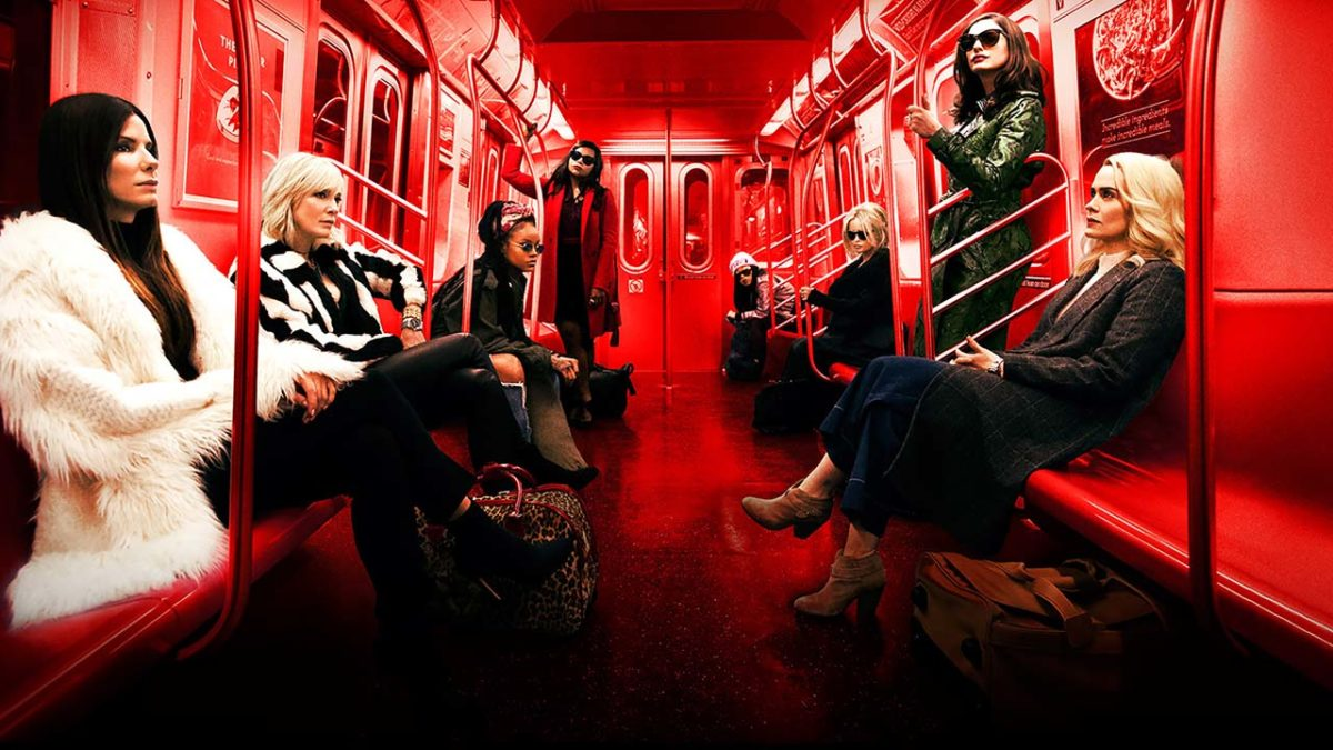 Ocean's Eight is a pleasantly diverting trifle