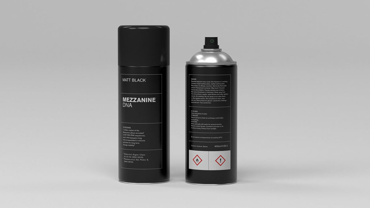 Massive Attack to reissue Mezzanine as DNA-infused spray paint, and Banksy is certainly not in the band why would you even ask
