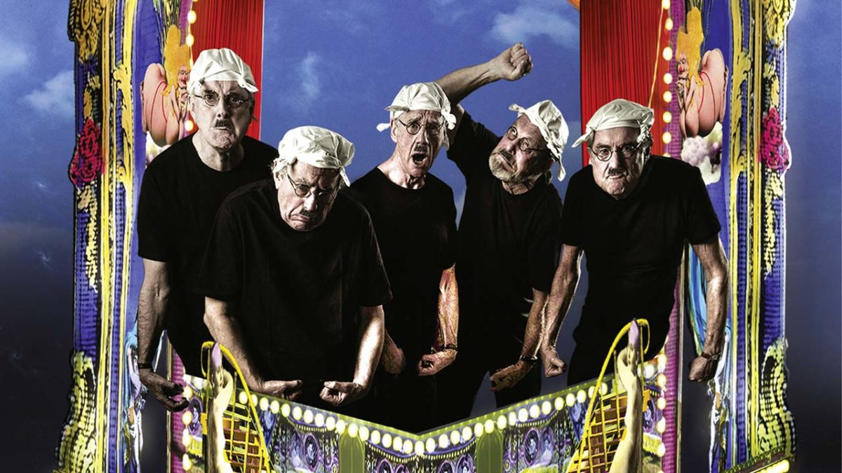 "Monty Python throws a farewell party for themselves in ""Live (Mostly): One Down, Four to Go"""
